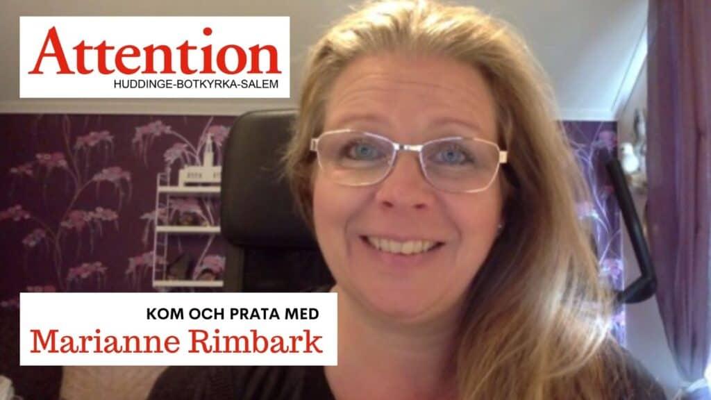 Marianne Rimbark, Attention Huddinge Botkyrka Salem pratar bland annat om föräldraskap ur NPF-perspektiv